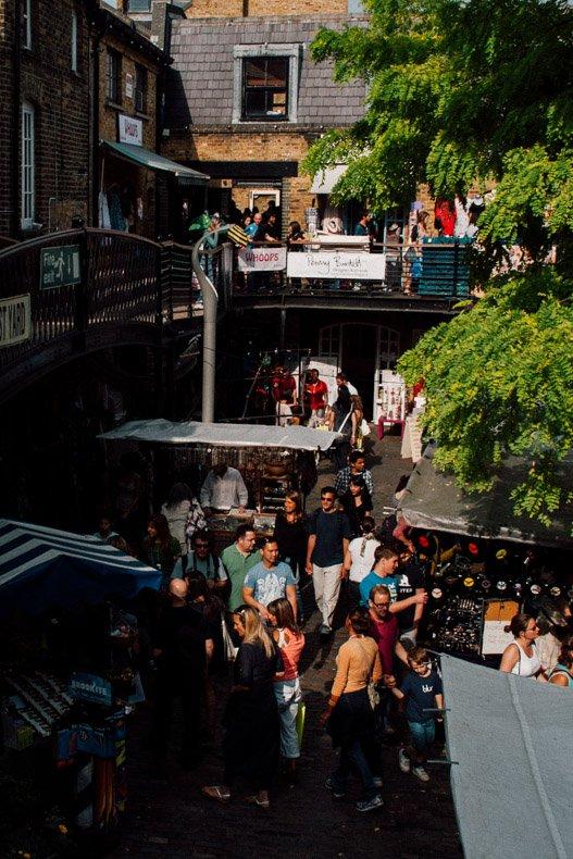 Camden Market Yard