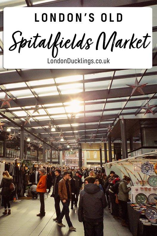 Spitalfields Market in East London