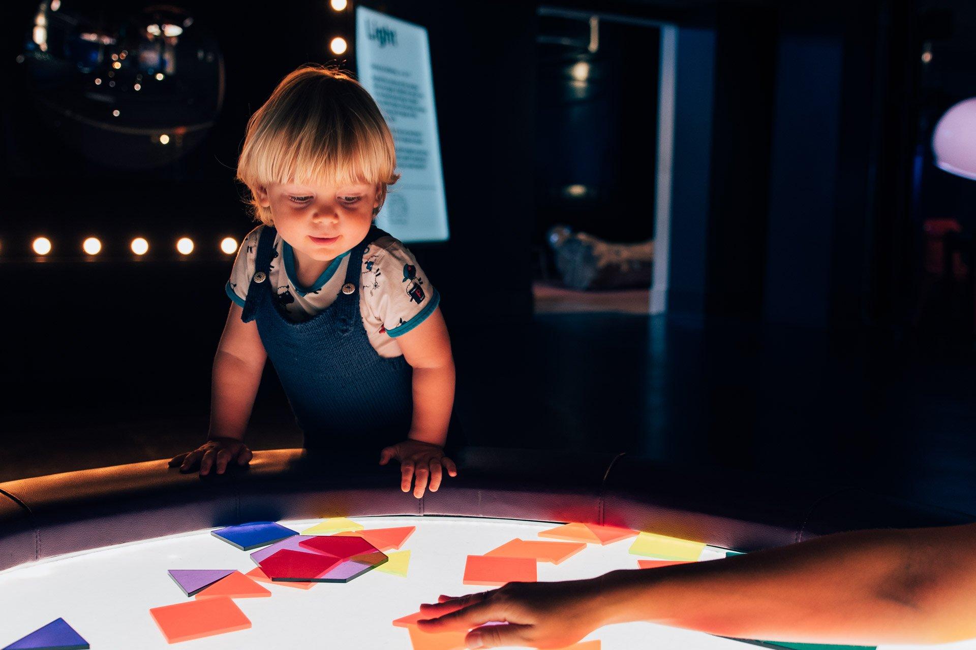 Boy in Science Museum
