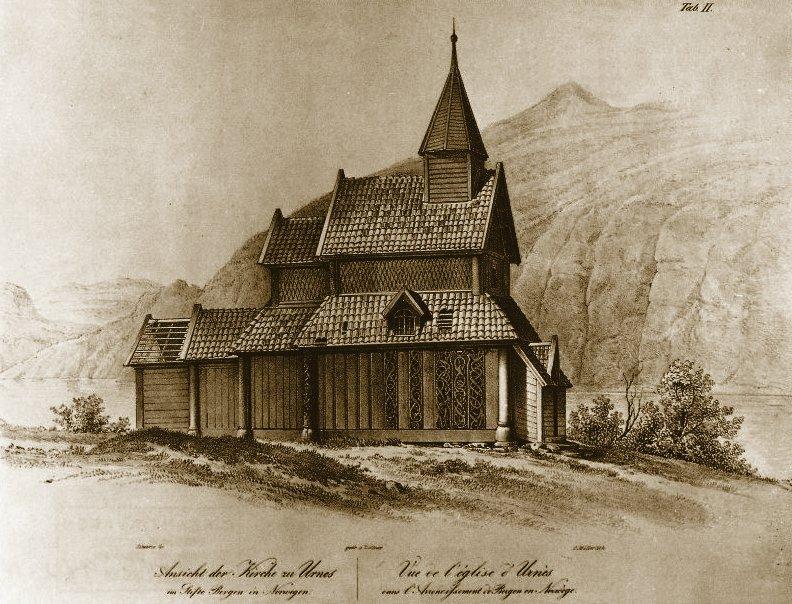 Urnes Stave Church, Sognefjorden