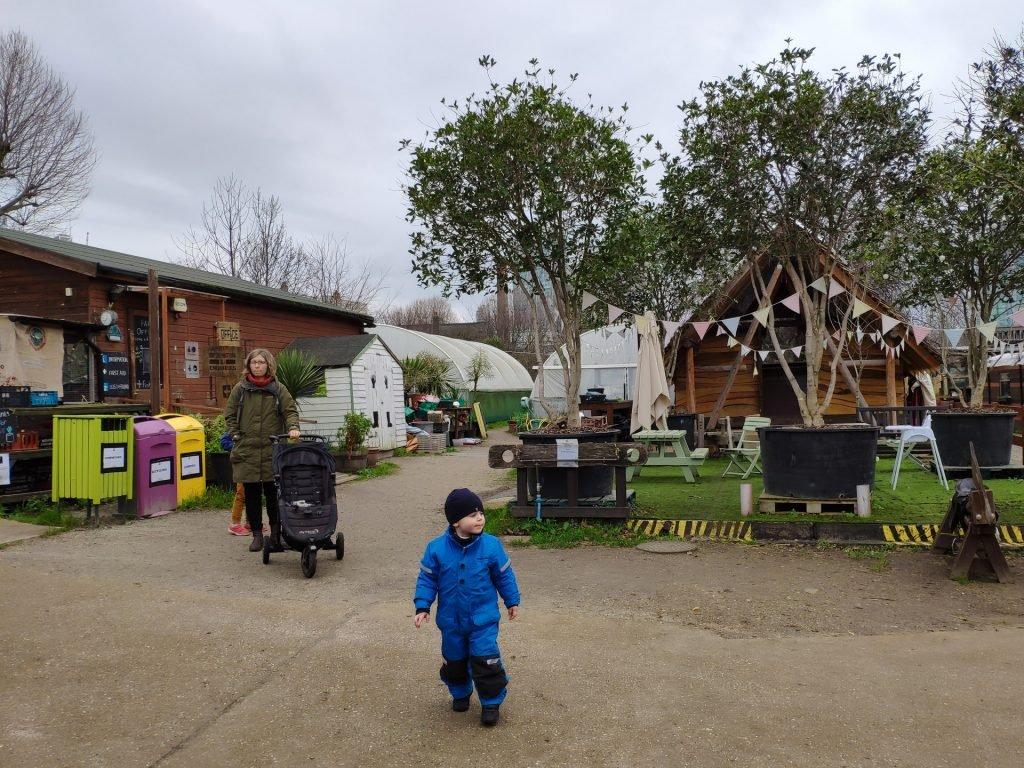 Exploring Spitalfields Farm