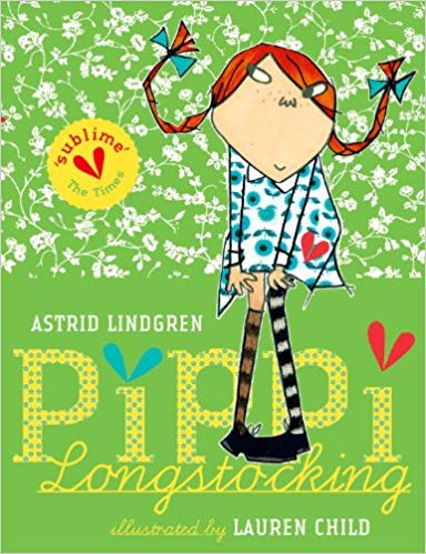 Pippi Longstocking Illustrated
