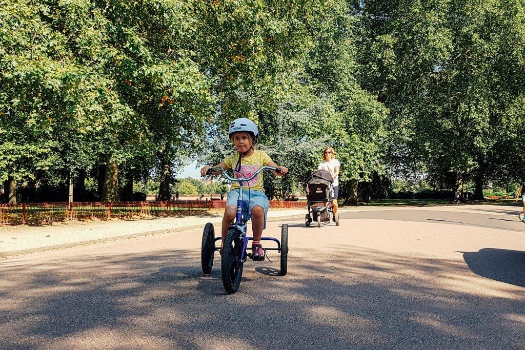Battersea Park Cycle Route