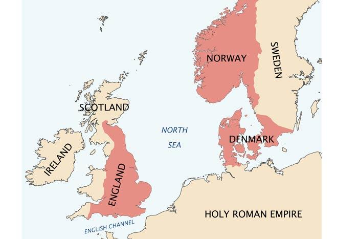 King Cnute's North Sea Empire