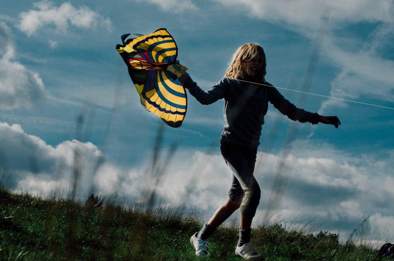 Kite Flying on Hampstead Heath