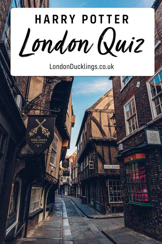 Harry Potter London Quiz