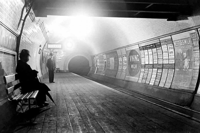Vintage London Tube Station Quiz