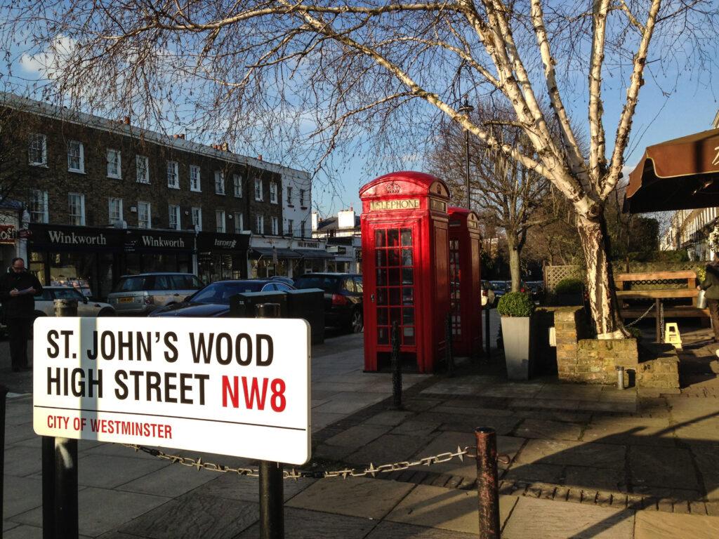 st johns wood next to regent's park