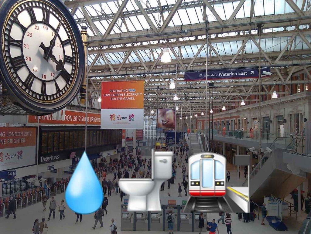 Waterloo Station Emoji