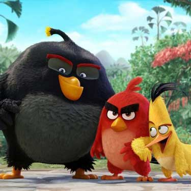 Angry Birds movie on Netflix