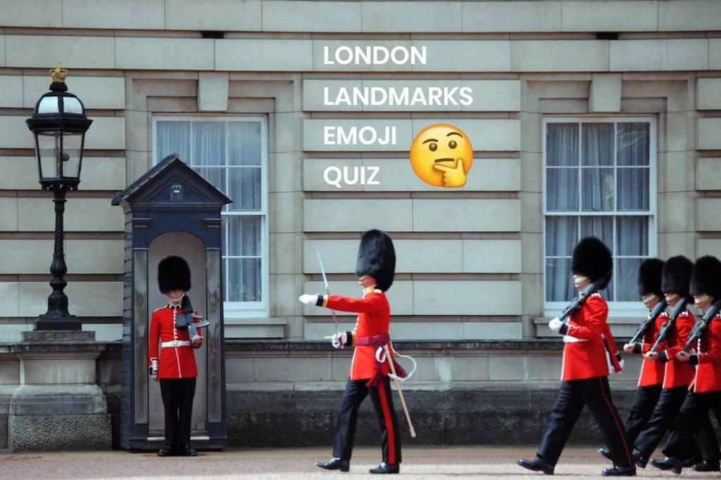 London Landmarks Emoji Kids Quiz