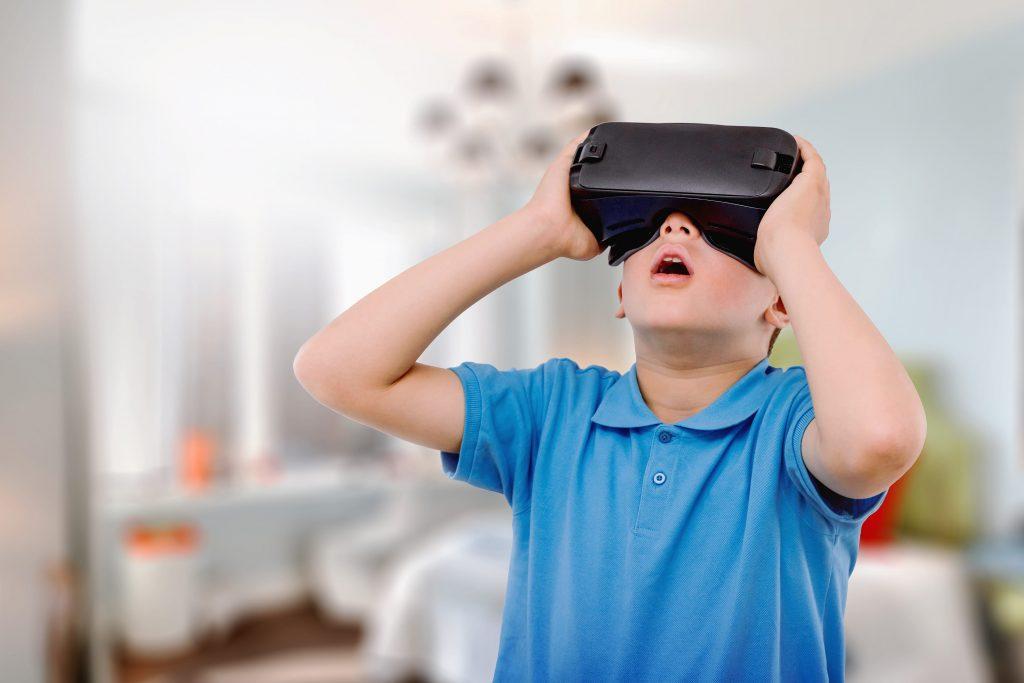 VR headset Virtual Tours London