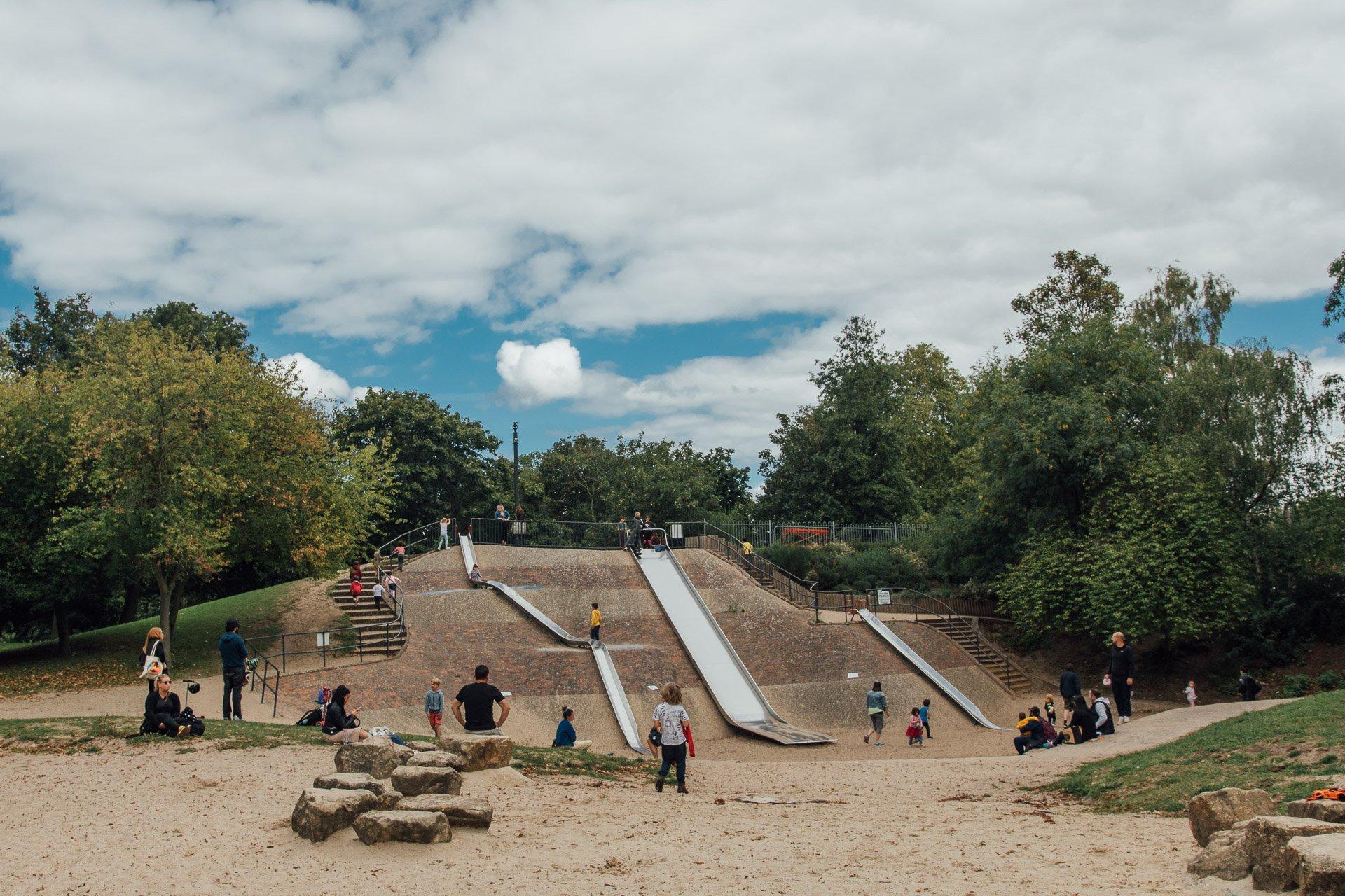 Victoria Park for kids